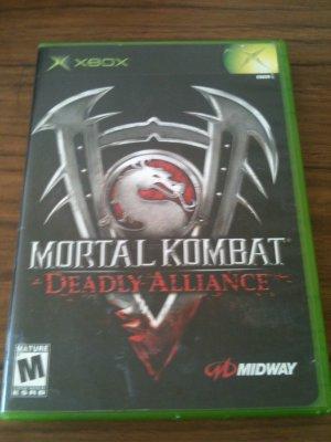 Mortal Kombat - Deadly Alliance (Microsoft Xbox, 2002)