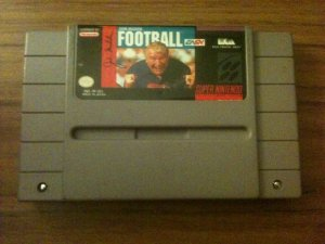 John Madden Football (Super Nintendo, 1990)