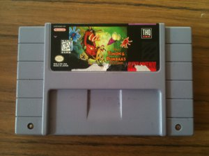 Timon and Pumbaa's Jungle Games (Super Nintendo, 1995)