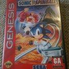Sonic Spinball (Sega Genesis, 1993)