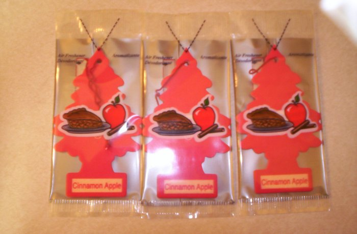 Cinnamon Apple Tree Air Freshener - Lot of 72 -
