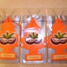 Coconut  Tree Air Freshener - Lot of 72 -