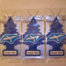 Ocean Mist  Tree Air Freshener - Lot of 3 -