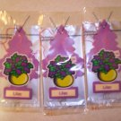 Lilac Tree Air Freshener - Lot of 3 -
