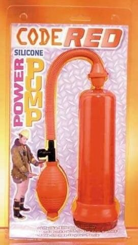 Code Red Silicone Power Pump