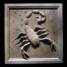 Scorpio Zodiac plaque (Oct 23 - Nov 21) sculpture plaque