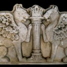 Large Royal Griffins Persian Roman Empire Sculpture plaque sculpture