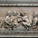 Kama Sutra LARGE plaque sculpture