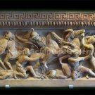 Alexander the Great Sarcophagus (Battle Scene Macedonians and Persians) Greek Hellenistic  Sculpture