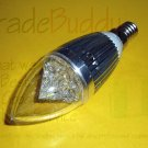 5x New High Quality E14 White 3 W LED Candle Light Bulb 110 V or 220 V CE RoHS