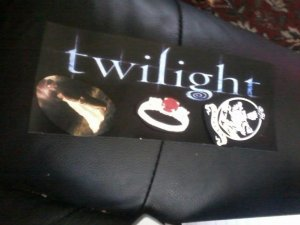 Twilight bookmark
