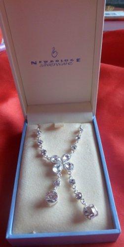"Newbridge Silver ""Ice"" Pendant Necklace"