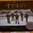 Train:  She's On Fire (Enhanced CD)