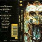 Michael Jackson: Dangerous  (Cassette)