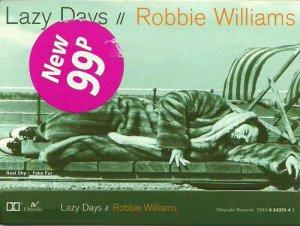 Robbie Williams:  Lazy Days (Cassette Single)