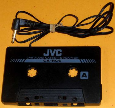 JVC CA-RC6 Car Music Audio Cassette Tape Adapter Converter