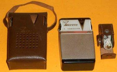 Vintage:  Zephyr ZR 620  Transistor Radio