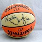 Katie Douglas Signed Spalding Basketball WNBA