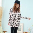 Pink Fashion Spring Autumn Women Lips Loose Casual Tops Blouse Hoodies Cotton Long Sleeve Batwing