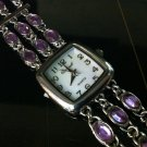 Red Hat Society Purple Dainty Watch