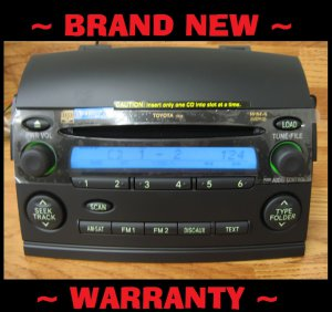 NEW TOYOTA SIENNA Radio MP3 6 Disc CD Changer LE 11827 11818 11810 Satlite Ready