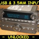 UNLOCKED 2010-2011 Chevy SILVERADO GMC SIERRA CD Radio Ipod USB input & 3.5 MP3