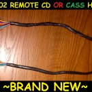 95-02 GM/CHEVY TRUCK/SUV DELCO REMOTE CD/CASSETTE PLAYER TO RADIO CABLE/HARNESS
