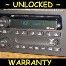 UNLOCKED 2002 2003 CHEVY Envoy Trailblazer Radio CD Player Stereo RDS 15169545
