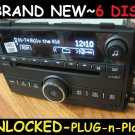 NEW UNLOCKED 2007-09 Pontiac Saturn 6 CD CHANGER Radio 3.5mm Aux/Ipod input &MP3