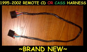 CHEVY GMC GM DELCO REMOTE SLAVE CD PLAYER OR CASSETTE WIRE WIRING HARNESS CABLE