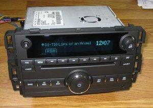 NEW UNLOCKED 2007-2012 GMC Savana SIERRA TRUCK W/T 6 CD Radio 3.5 MP3 IPOD INPUT