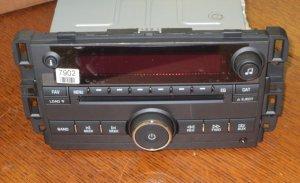 NEW- PLUG & PLAY Pontiac TORRENT 6 CD CHANGER Radio 3.5mm Aux/MP3/Ipod input OEM
