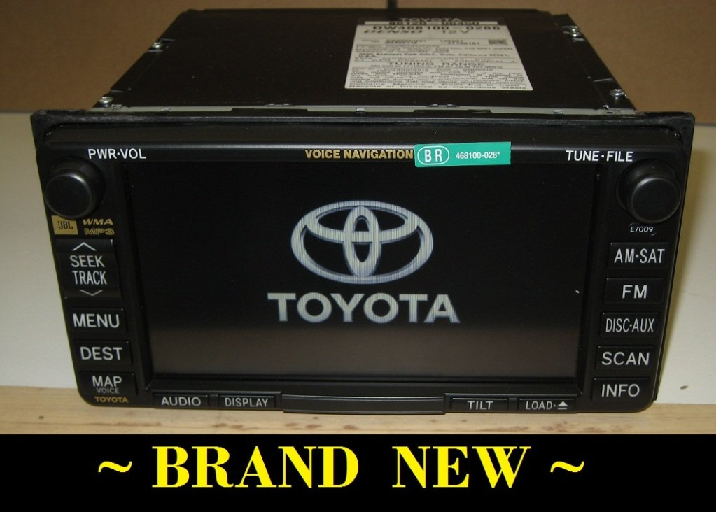 new toyota solara camry jbl gps navigation radio e7009 w map disc 07 08. Black Bedroom Furniture Sets. Home Design Ideas