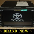 NEW- TOYOTA SOLARA CAMRY JBL GPS NAVIGATION RADIO E7009 w/MAP DISC 07-08