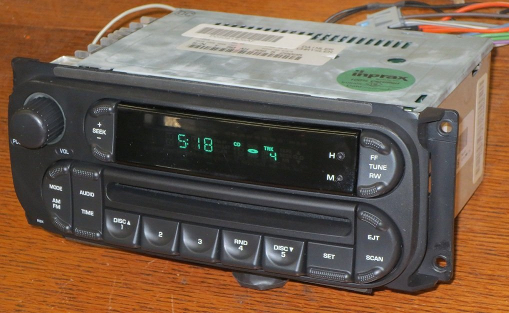Removal And Wiring Diagram For 2002 2007 Jeep Grand Cherokee Cd Radio