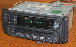REFURBISHED (NOS) *2002-2007 CHRYSLER JEEP DODGE RAM 1500 2500 3500 T&C CD RADIO