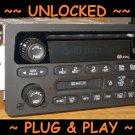 UNLOCKED OEM 2001-2005 CHEVY VENTURE MONTE CARLO CD Cassette Tape RADIO Impala