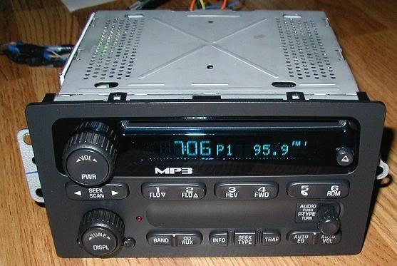 UNLOCKED 2004-2012 GMC CHEVY COLORADO ENVOY GMC CANYON MP3 CD PLAYER RADIO