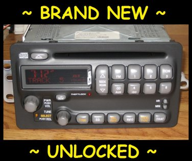 NEW UNLOCKED OEM Pontiac Sunfire Montana Grand Am Aztek Radio CD Player Stereo