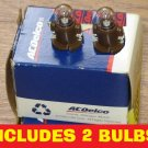 QTY: 2 NEW OEM ACDELCO PONTIAC DELCO Radio DISPLAY LIGHT BULB LAMP RADIO CD GM