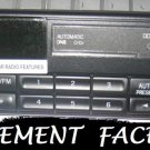 NEW REPLACEMENT FORD MUSTANG RANGER EXPLORER TAPE RADIO FACEPLATE CASSETTE
