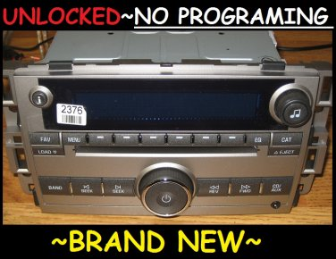 BRAND NEW 2007-10 BUICK LUCERNE Enclave 6 CD CHANGER Radio 3.5mm MP3 input