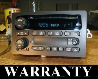 2003-06 CHEVY SUBURBAN TAHOE SILVERADO GMC YUKON SIERRA CD PLAYER RADIO OEM