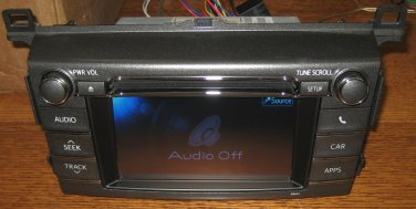 OEM TOYOTA TOUCHSCREEN SAT CD RADIO BLUETOOTH NAV NAVIGATION? RAV4 ? 2011-2012