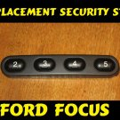 Ford KA/ Focus Security Bar Pen Strip Cd TAPE Cassette radio REPLACEMENT Buttons