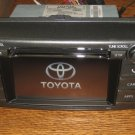 OEM TOYOTA TOUCHSCREEN SAT CD RADIO BLUETOOTH NAV NAVIGATION RAV4 2011-2013