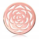 "Nikki Lissoni, rose gold, ""Large Rose"" Coin Insert"