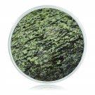 """Nikki Lissoni, silver, """"Faceted Green Zebra Jasper"""" Coin Insert"""