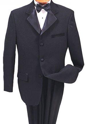 """NWT Vittorio St. Angelo Boys Tuxedo Size 10 (25"""") in Black"""