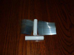 1000 SHRINK WRAP BANDS for lip balm (Chapstick) tubes